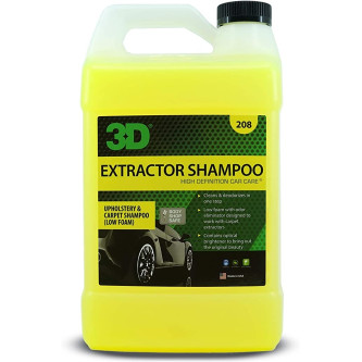 3D EXTRACTOR SHAMPOO, DETERGENT PENTRU INJECTIE - EXTRACTIE 3.80L 208G01 Carhub