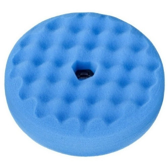 Burete polish fin cu fata dubla 3M Quick Connect, albastru 216mm 50708 Carhub