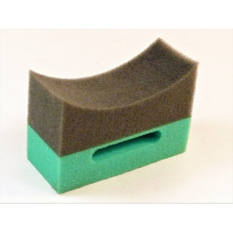 Burete aplicator pentru anvelope verde & negru