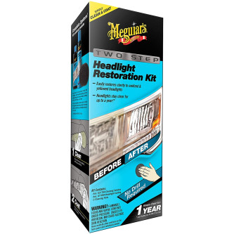 Kit polish restaurare faruri manual in 2 pasi Meguiar's Two Step Headlight Restoration Kit, G2970 Carhub_1