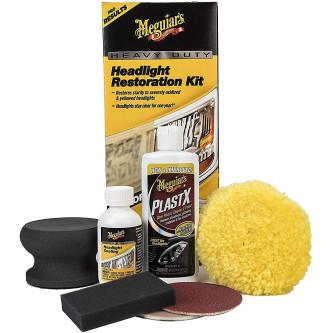 Kit polish restaurare faruri Meguiar's Heavy Duty Headlight Restoration Kit, G2980 Carhub