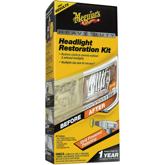 Kit polish restaurare faruri Meguiar's Heavy Duty Headlight Restoration Kit, G2980 Carhub_1