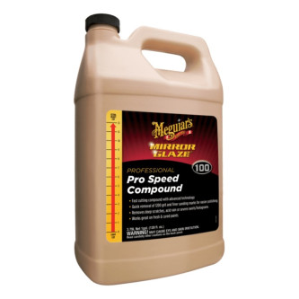 Pasta polish abraziv - Mirror Glaze Pro Speed Compound Meguiar's 3.78L