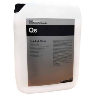 Solutie detailing auto rapid - Quick&Shine - Koch Chemie-10 L 168010