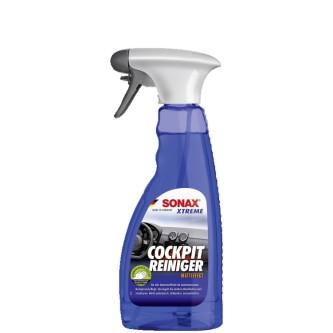 SONAX XTREME COCKPIT CLEANER, SOLUTIE CURATARE PLASTIC CU EFECT MAT 500ML  Carhub.jpg