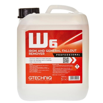 w6,solutie decontaminare jante si caroserie,iron and general fallout remover